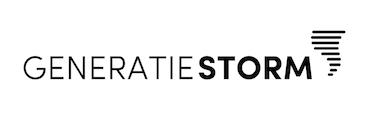 Logo Generatie STORM WIT EXTRA KLEIN